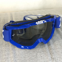 Очки кроссовые 100% Accuri Sand Reflex blue/gray smoke lens 50201-002-02