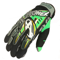 Перчатки Answer Racing blk/wh/green 2XL 15862