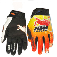 Перчатки KTM RedBull cross blk/orange/wh XL 17912