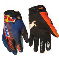 Перчатки KTM RedBull cross blk/blue/orange L 17910