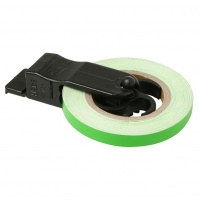 Наклейка на диск WHEEL STRIPE green D2828-10243