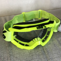 Очки кроссовые 100% Accuri Fluo yellow OTG/clear lens 50204-004-02