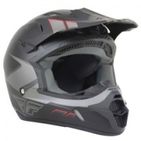 Шлем FLY Kinetic Impuls grey/blk.matt XL 12674