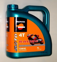 Масло моторное REPSOL MOTO RACING 4T 10W40 4L 6013/R