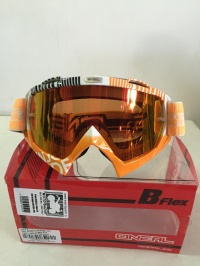 Очки ONEAL B-Flex ETR wh/orange 6024BE-204