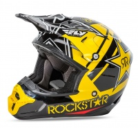 Шлем FLY Kinetic PRO Rockstar blk/yel XL 11963