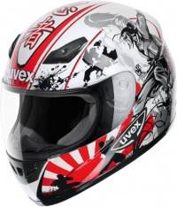 Шлем UVEX XENOVA ABS WHITE/RED/BLACK SHINY L