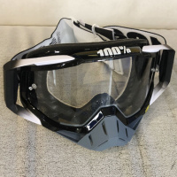 Очки кроссовые 100% Racecraft Adyss blk clear lens 50100-001-02