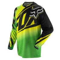 Майка кроссовая FOX 360 Enterprize Jersey Green/Yellow XXL