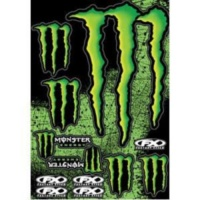 Наклейка FACTORY EFFEX MONSTER STICKER KIT 2(XL)