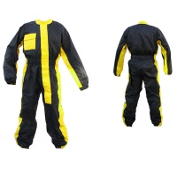 Дождевик комбинезон Motocycletto blk/yellow M MC-SUIT-LIMONE-M