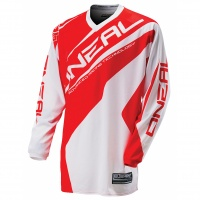 Майка кроссовая ONEAL Element Racewear wh/red L 0024R-314