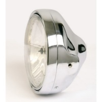 Фара LTD chrome headlamp H4, clear lens 223-127