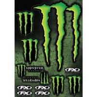 Наклейка FACTORY EFFEX MONSTER Stiker kit2