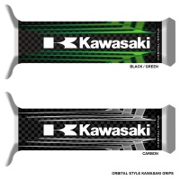 Ручки ORBITAL kawasaki black/green 685612