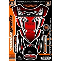 Наклейка на бак MOTOGRAFIX YAMAHA  RED TY015RS
