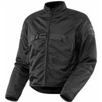 Куртка ICON текстиль HOOLIGAN BLACK XL 2820-2528