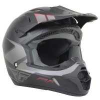 Шлем FLY Kinetic Impuls grey/blk.matt XS 13470