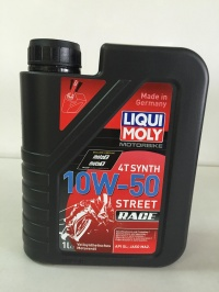 Масло моторное LIQUI MOLI 10W-50 Synth Street Race 1л 3982/1502
