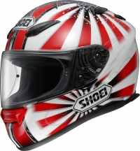 Шлем SHOEI XR-1100 CONQUEROR RED/WHITE XL