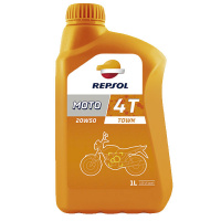Масло моторное REPSOL MOTO TOWN 4T 20W50 1L 6027/R