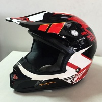 Шлем FLY Kinetic Impuls red/blk/white XS 14872