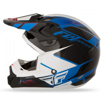 Шлем FLY Kinetic Impuls blue/blk/white XS 16919