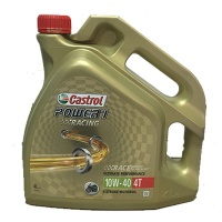 Масло моторное CASTROL 4T SYNTHETIC POWER 1 RACING 10W40 4L 14957