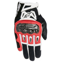 Перчатки ALPINESTARS SMX-2 AIR CARBON V2 S blk/red/wht 3567717_132_S