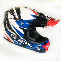 Шлем ONEAL 3Series Shocker blk/red/blue M 0623S-503