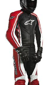 Комбинезон ALPINESTARS OCTANE 2PC SUIT BLACK/RED 50