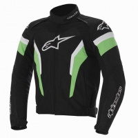 Куртка ALPINESTARS текстильT-GP PRO  black/green/white XXL