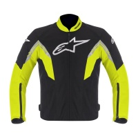 Куртка ALPINESTARS текстиль VIPER AIR black/yellow/fluo white XXL
